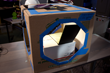 Cardboard-based Camera scanning book